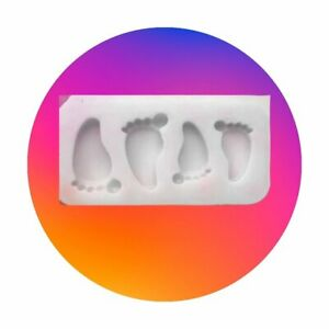 Food Grade Silicone Mould - Baby Feet