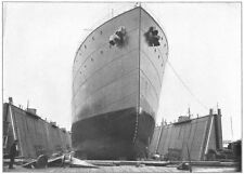 USA. Massachussetts; Cargo carrier built Atlantic trade American Shipyards 1907