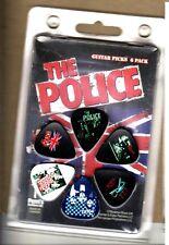 The Police - Guitar Pick Set - 6 Picks - +Sting+- Licensed New In Pack