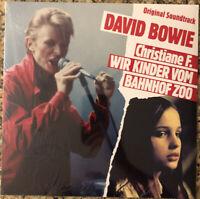 David Bowie Christiane F. Wir Kinder Vom Bahnof Zoo OST LP sealed vinyl reissue