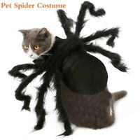 Halloween Pet Black Spider Costume Dog Cat Big Spider Costume for Cosplay Party