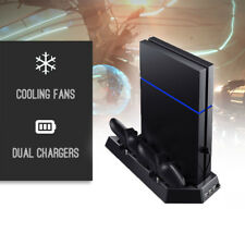 Unique PS4 Cooling Station Vertical Stand 2 Controller Charging Dock And USB Hub