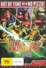 TEENAGE MUTANT TURTLES 3 TURTLES IN TIME NEW & SEALED DVD FREE LOCAL POST