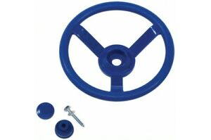 STEERING WHEEL~ Blue Cubby House Accessories Kids Playground Equipment Fort
