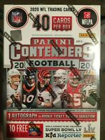 2020 Panini Contenders Football Blaster Box New Sealed Fast Herbert burrow tua?