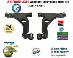 2X Brazo de Suspensión Delantero Wishbone Set para Opel Astra 2.0 Sri Turbo