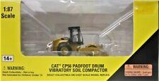 CAT 55247 CP56 Padfoot Drum Vibratory Soil Compactor HO Scale 1/87