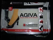 Agiva Wet wipes clean Leather Shoe Belt Bag Car Jacket 20pcs High Quality EUmade