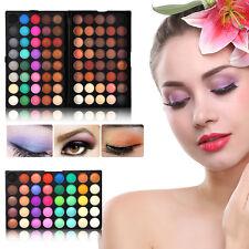 Pro 120 Colors Shimmer Matte Eyeshadow Palette Eyes Makeup Cosmetic Set Kit Tool