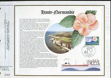 DOCUMENT CEF PREMIER JOUR  1978  TIMBRE   N° 1992  HAUTE NORMANDIE