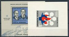 [349119] Romania lot of 2 good sheets very fine Mnh