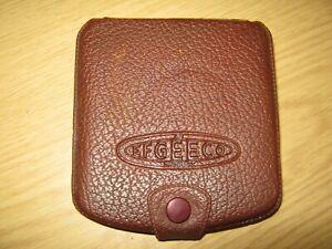 vintage efgeeco hook wallet