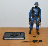 "GI JOE 25TH ANNIVERSARY COBRA OFFICER ACTION FIGURE COMPLETE 2007 3.75"" ARAH THE"
