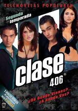 Clase 406 THE COMPLETE 2ND Season DVD, 2007 2-Disc Set Segunda Temporada TV SHOW