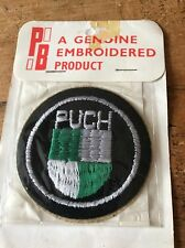 Rare Vintage New Old Stock PATCH PUCH