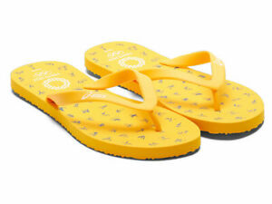 Tokyo 2020 Olympic Sports Pictogram Beach Sandals Yellow Navy S size