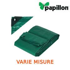 Telo telone copertura occhiellato verde antigelo impermeabile antistrappo