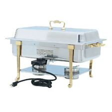Vollrath 46040 9 Quart Classic Design Full Size Oblong Chafing Dish