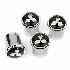 Mitsubishi Logo Tire Valve Stem Caps - USA Made Quality - Lancer Evolution