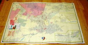 1976 Missouri Map Standard Oil/Amoco