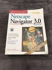 Netscape Navigator 3.0 Book Macintosh Edition