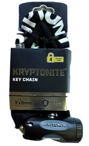 🚴🏾Kryptonite Key Chain Lock Bike Motorcycle Scooter Level 4 Security 3ft x 8mm