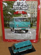 IST USSR 1959 Raf-977-DM Taxi Bus Latvia Magazine Diecast 1/43 Auto Legends #39
