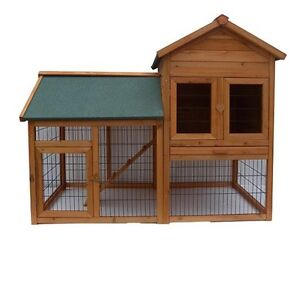 New STOCK Brand New  X-Large Chicken Coop Rabbit house Hutch Cage & RUN P015