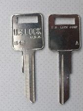 Holden HQ HJ HX Ignition Door Keys 2 Keys US Lock Monaro Torana SS Statesman