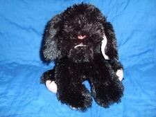 "Lasenza Girl Puppy Club Plush  Black Dog 9""L x 8""H"