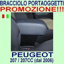 PEUGEOT 207 - 207CC - CC - bracciolo con portaoggetti - vedi ns. tappeti auto