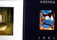 C1 AGENDA ILLUSTRATEURS Deblaere LOT DE 3 1990 91 93