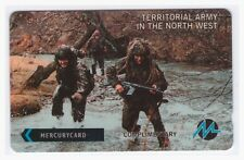 MINT  50P MERCURY PHONECARD TERRITORIAL ARMY