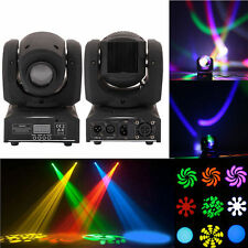 10W RGBW 4-in-1 LED Moving Head Light DMX512 DJ Club Disco Stage Party Lighting