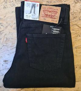 Levis 751 0226 schwarz Jeans Regular Fit Klassiker Mittlere Leibhöhe  Herren