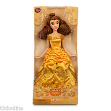 AUTHENTIC DISNEY PRINCESS BELLE DOLL 30cm  BEAUTY AND THE BEAST KIDS TOY NEW