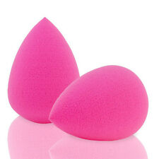 2Pcs Beauty Latex Free Blender Makeup Flawless Powder Puff Foundation Sponge