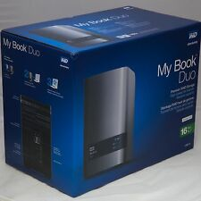 WD My Book Duo Desktop RAID External Hard Drive Enclosure USB 3.0 upto 16TB