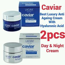 LACURA CAVIAR • Luxury Anti-Ageing • Day & Night Cream (2 items) 50ml each !!!
