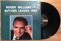 Roger Williams - Autumn Leaves (1965) Vinyl LP •PLAY-GRADED•