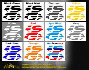 BMW R 1200 GS Adventure and GS, GS BIG Side tank Stickers - Decals 2004 - 2013