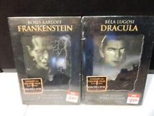 FRANKENSTEIN DRACULA the Legacy Collection dvd set Karloff Lugosi lot