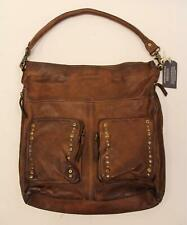 Amsterdam Heritage Women's 1000 Jansen Leather Hobo Bag HD3 Cognac NWT