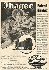 W9949 JHAGEE Patent-Duplex - Pubblicità del 1931 - Old advertising