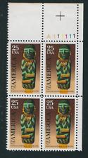Scott #2426...25 Cent... America...5 Plate Blocks...20 Stamps