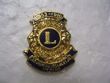 Lions Club Pin Mexico 1953 1978 Emblem Vintage Collectible