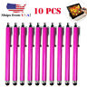 10x Rose Touch Screen Pen Stylus Universal For iPhone iPad Samsung Tablet Phone