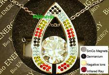 Powerful  Magnetic Quantum Bio Scalar Energy Pendant Necklace Balance 4in1 Power