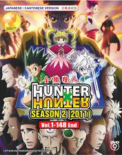 Hunter x Hunter (Season 2) Dvd (Vol.1-148) Anime Boxset - Us Seller Ship Fast