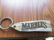 NOS MARBLES ARMS GLADSTONE MI REAL ANTLER CARVED KEYCHAIN NOVELTY ITEM